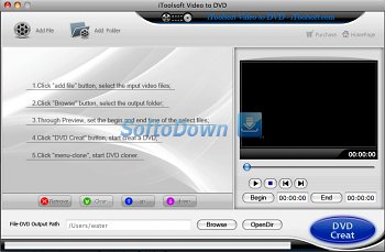 iToolSoft Video to DVD Converter for Mac 1.9.14