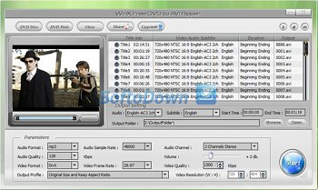 WinX Free DVD to AVI Ripper 4.3.29