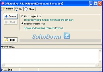 365ActRec(Mouse Keyboard Recorder) 2.0
