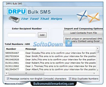SMS Marketing Software 8.2.1.0
