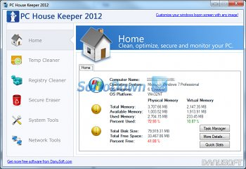 PC House Keeper 2012 1.0