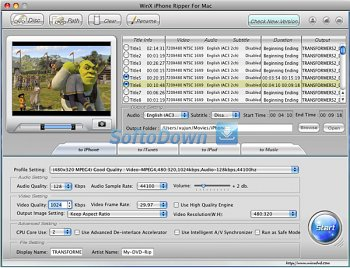 WinX iPhone Ripper for Mac 3.2.5